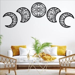 Aesthetic Wall Hanging Decor Phase Moon